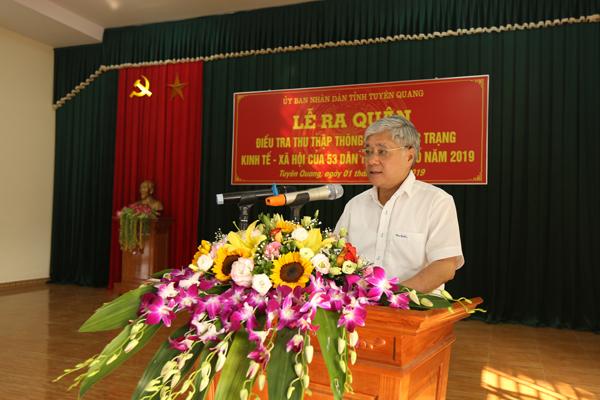 Lễ ra quân điều tra thực trạng kinh tế - xã hội 53 dân tộc thiểu số năm 2019 tại tỉnh Tuyên Quang