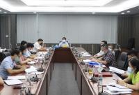 Bộ trưởng, Chủ nhiệm Hầu A Lềnh làm việc với Vụ Kế hoạch - Tài chính